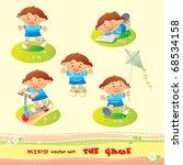 game boy | Shutterstock .eps vector #68534158