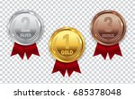champion gold  silver and... | Shutterstock .eps vector #685378048