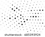 abstract halftone dotted... | Shutterstock .eps vector #685393924