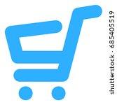 shopping cart icon   Shutterstock .eps vector #685405519