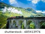 jacobite steam train   Shutterstock . vector #685413976