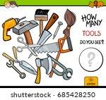cartoon vector illustration of...   Shutterstock .eps vector #685428250