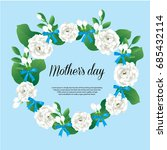 happy mother's day card thai... | Shutterstock .eps vector #685432114