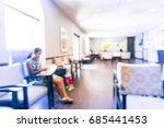 blurred cashier counter of... | Shutterstock . vector #685441453