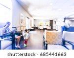 blurred cashier counter of... | Shutterstock . vector #685441663