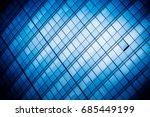 detail shot of modern... | Shutterstock . vector #685449199