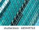 detail shot of modern... | Shutterstock . vector #685449763