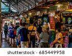 Floating Market At Pattaya...