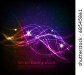 winter background. vector eps 10 | Shutterstock .eps vector #68545861