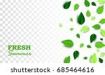 fresh summer creative banner...   Shutterstock .eps vector #685464616