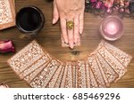 Fortune Teller Female Hands And ...