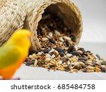 Dried Grains Bird Food  Black...