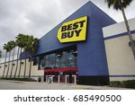 best buy on july 23  2017 in... | Shutterstock . vector #685490500