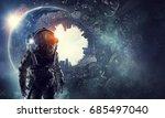 Astronaut In Fantasy World....
