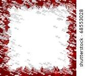 blank love letter frame | Shutterstock . vector #68553028
