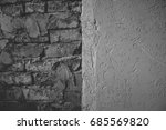 wall background. | Shutterstock . vector #685569820
