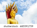 buddha statue  used as amulets...   Shutterstock . vector #685591759