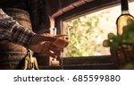 expert farmer and wine maker... | Shutterstock . vector #685599880