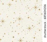 seamless night sky pattern....   Shutterstock . vector #685604206