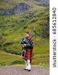 scottish highlands   september... | Shutterstock . vector #685612840