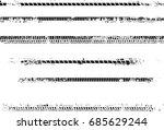 tire tracks . dirty grunge... | Shutterstock .eps vector #685629244