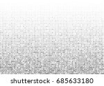 abstract halftone pattern... | Shutterstock .eps vector #685633180