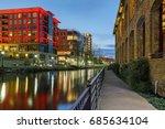 evening sights along the reedy...   Shutterstock . vector #685634104