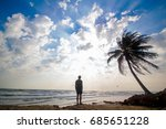 sky and sea | Shutterstock . vector #685651228