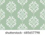 seamless ornament on background.... | Shutterstock .eps vector #685657798