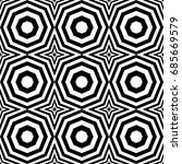 seamless pattern with black... | Shutterstock .eps vector #685669579