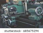 a lathe    Shutterstock . vector #685675294