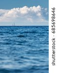 A Beautiful Seascape With A...
