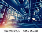 industrial zone  steel... | Shutterstock . vector #685715230