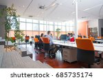 startup business people group... | Shutterstock . vector #685735174
