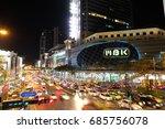 bangkok city  thailand  9 april ... | Shutterstock . vector #685756078