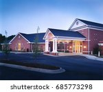 brick country club office... | Shutterstock . vector #685773298