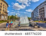 serbia  belgrade   july 26 ... | Shutterstock . vector #685776220