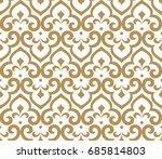abstract pattern in arabian... | Shutterstock . vector #685814803