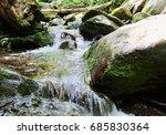 babbling brook | Shutterstock . vector #685830364