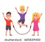 vector illustration of cartoon... | Shutterstock .eps vector #685839400