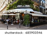 paris  france july 25  2017 ... | Shutterstock . vector #685903546