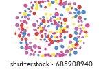 confetti background. colorful... | Shutterstock .eps vector #685908940