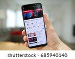 lendelede  belgium july 28th... | Shutterstock . vector #685940140