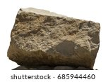 Big Rock  Boulder Isolated