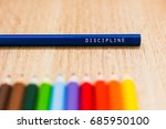 Discipline Word Written On A...