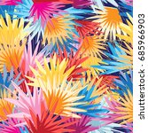 bright multicolored abstract... | Shutterstock .eps vector #685966903