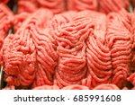 fresh pork | Shutterstock . vector #685991608