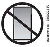 no phones | Shutterstock .eps vector #686022850