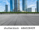 cityscape and skyline of... | Shutterstock . vector #686028409