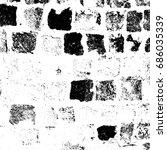 old black white background | Shutterstock . vector #686035339